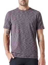 Mpg Ignite Space Dye Performance Jersey Tee Heather Port