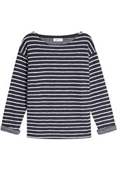 Closed Striped Cotton Top Stripes