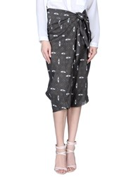 Crea Concept Skirts 3 4 Length Skirts Women Lead