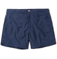 Brunello Cucinelli Mid Length Swim Shorts Navy