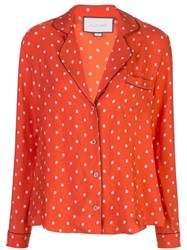 Alexis Dezmond Top Orange