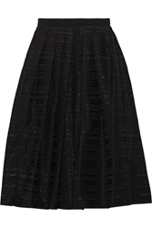 Tibi Ribbon Appliqua D Organza Midi Skirt