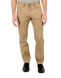 English Laundry Greenwich Stretch Cotton Pants Beige