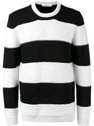 Golden Goose Deluxe Brand Striped Sweater Black