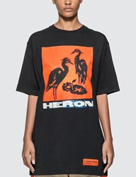Heron Preston Herons Screenprint T Shirt Black