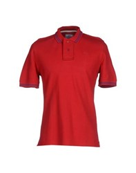 Vintage 55 Topwear Polo Shirts Men Red