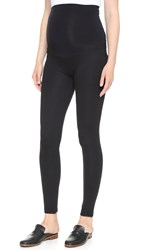 Ingrid And Isabel Ponte Skinny Maternity Leggings Black