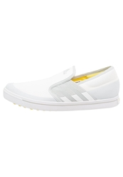 Adidas Golf Adicross Golf Shoes White Light Grey Light Yellow