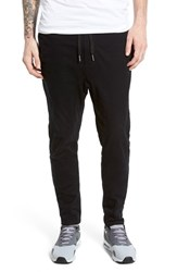 Zanerobe Men's 'Salerno' Stretch Woven Jogger Pants Black