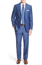 Men's David Donahue Classic Fit Solid Wool Suit