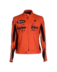 Blauer Coats And Jackets Jackets Men Orange