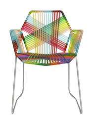 Moroso Tropicalia Chair With Armrests Multicolor