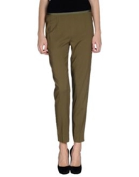 Ql2 Quelledue Casual Pants Military Green