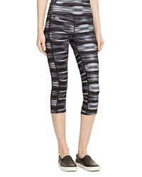 Lauren Ralph Lauren Active Abstract Print Leggings Black Multi