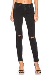 Joe's Jeans The Vixen Ankle Distressed Faded Black