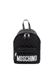 Moschino Logo Quilted Backpack 60