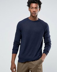 Kiomi Jumper In Fine Knit Navy
