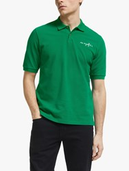Maison Labiche Me Myself And I Short Sleeve Polo Shirt Imperial Green