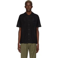 Cmmn Swdn Black Wes Knitted Polo