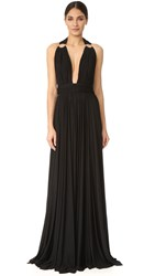 Maria Lucia Hohan Loha Sleeveless Maxi Dress Black