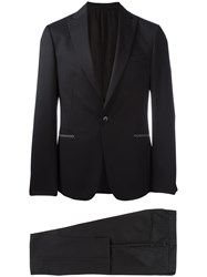 Z Zegna Two Piece Suit Black
