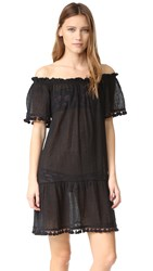 Eberjey Sol Devon Cover Up Dress Black