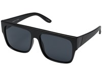 Le Specs Bravado Matte Black Smoke Mono Fashion Sunglasses