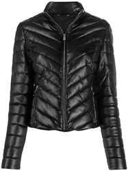 Trussardi Jeans Quilted Zip Up Jacket 60