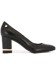 Baldinini Almond Toe Pumps Black