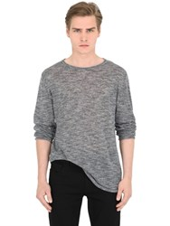 Diesel Heathered Linen Blend Sweater