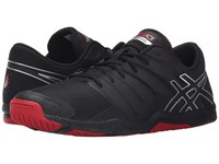 Asics Met Conviction Black Silver Racing Red Men's Shoes