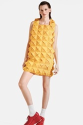 Junya Watanabe Monofilament Mesh Dress Yellow