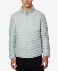 32 Degrees Men's Light Thin Packable Bomber Jacket A Macy's Exclusive Silver Mel