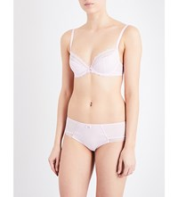 Chantelle C Chic Sexy Plunge Bra Candy Pink