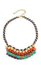Nocturne Lia Necklace Turquoise Multi