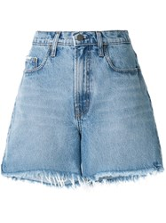 Nobody Denim Stevie Frayed Shorts 60