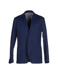 Henry Cotton's Suits And Jackets Blazers Men Blue
