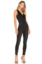 G Star Lynn Zip Grip Sleeveless Jumpsuit Black