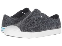 Native Jefferson Jiffy Black Shell White Anthill Camo Shoes