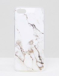 Signature White Marble Iphone 7 White