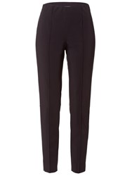 Basler Stretch Trousers With Creases Navy