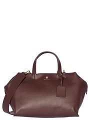 Modalu Sienna Leather Casual Grab Bag Aubergine