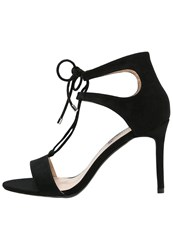 Dorothy Perkins Sindy High Heeled Sandals Black