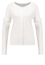 Supertrash Clover Cardigan Frosted White Off White