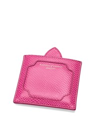 Aspinal Of London Marylebone Compact Mirror Pink