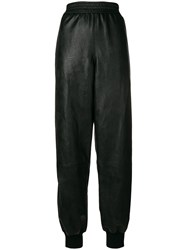 Stella Mccartney Loose Fitted Track Trousers Black