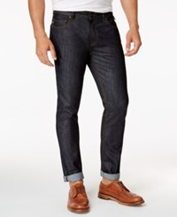 American Rag Men's Classic Fit Raw Denim Jeans Only At Macy's Dark Wash