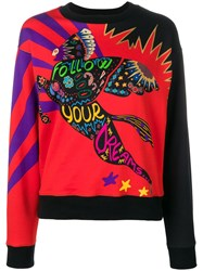 Etro Follow Your Dreams Sweatshirt Red