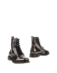 Cult Ankle Boots Steel Grey