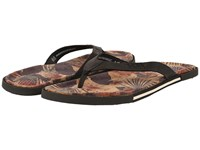 Ugg Bennison Ii Hawaiian Cork Asphalt Nubuck Men's Sandals Black